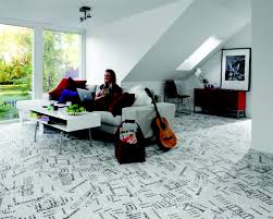 map of york city on a vinyl floor in tarkett s