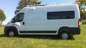 dodge work van ram promaster van conversion windows motion windows