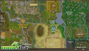 Runescape 2007 World Map by Runescape World Map A Photo On Flickriver