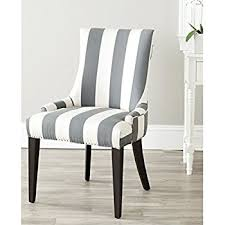 Black And White Striped Dining Chair Safavieh Mercer Collection And White Striped