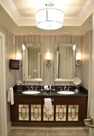 vanity wall sconce lighting bathroom modern bathroom design with brown vanity cabinets and
