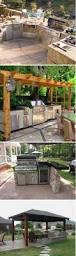 Outdoor Bbq Patio Ideas Faux Stone U0026 Counter Space For Outdoor Grilling This Would Be An