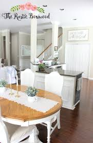 Kitchen Dining Room Combo by Open Concept In A Small Home Dining Room Kitchen Entry And