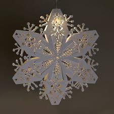 white large 3d snowflake 60cm dia creative inspiration