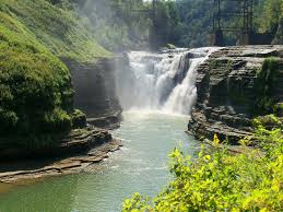 Letchworth State Park Map by Letchworth State Park U201cgrand Canyon Of The East U201d Travelroads Com