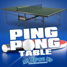 Ping Pong Table Rental Backyard Games In Evansville Indiana All Blown Up