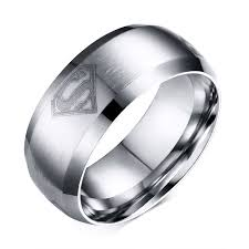 superman wedding ring online shop 2017 hot sale time limited jewelry anillos fashion
