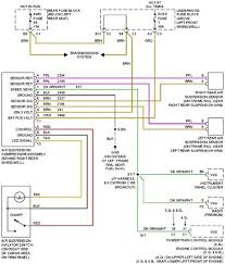 2007 chevy trailblazer radio wiring diagram wiring diagrams