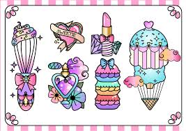 girly flash tattoo designs by whippedcreamcake on deviantart