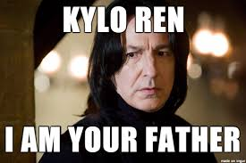 Father Meme - kylo ren s real father meme on imgur