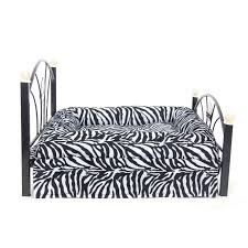 bedroom pet bed small dog bed metal frame dog cat kitten crate