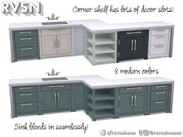 how to make a corner kitchen cabinet sims 4 simmer kitchen counter set if you re tired