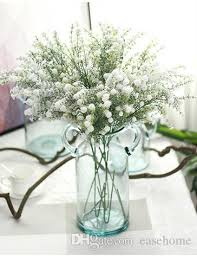 silk baby s breath 2018 artificial babys breath silk flower snow baby breath for home
