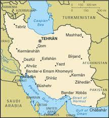 tehran satellite map iran media