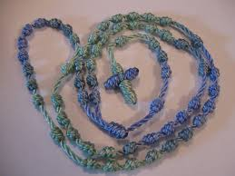 rosary twine junior legion of junior legion activity how to make cord rosaries