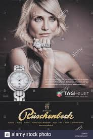 celebrities appear in adverts for various leading luxury designer
