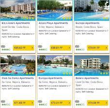 may 2016 cheap holidays for 7 nights salou 65pp majorca 69pp