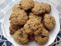 cuisiner flocon d avoine recette de cookie aux choco et flocons d avoine