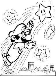 mario yoshi coloring pages print laura williams