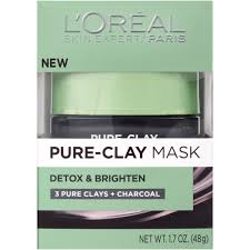 ray rice halloween mask l u0027oreal paris detox u0026 brighten pure clay mask 1 7 oz walmart com