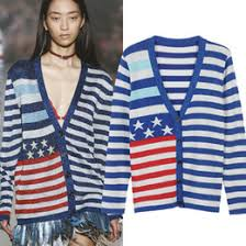 American Flag Cardigan Discount American Flag Knit Sweater 2017 American Flag Knit