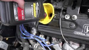 1989 honda accord engine 1989 honda accord motor filter change do it yourself part 04