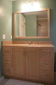 best wood choice for bathroom cabinet