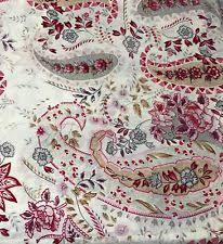 pottery barn paisley shower curtains ebay
