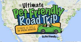 Road Trip Map Ultimate Pet Friendly Road Trip Map Logo Png