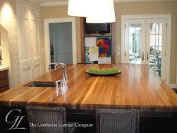 wood kitchen island top custom walnut wood countertop in boston massachusetts