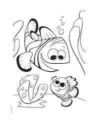 free finding nemo coloring books printable pixelpictart