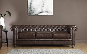 Chestnut Leather Sofa Hampton Antique Chestnut Leather Chesterfield Sofa 2 Seater Only