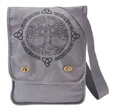 only at gaelsong tree of canvas bag