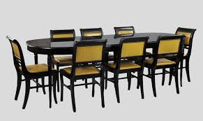 Dining Room Table Slides A Watertown Slide Lacquered Dining Table U0026 Eight Chairs 05 22 10