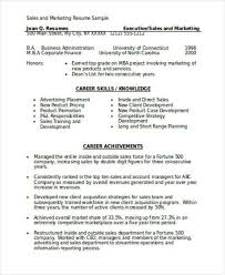Account Manager Sales Resume Resume Format For Sales Sales Resume Sales Resume Sample Sales