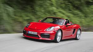 convertible porsche 2016 2016 porsche boxster spyder color guards red front hd