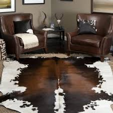 Rattan Rug Interior Cowhide Rugs For Living Room Design With Calfskin Rug