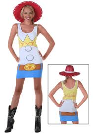 Disney Halloween Costumes Adults Womens Toy Story Jessie Tunic Tank Halloween