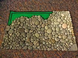 the little gunnell family diy stone mat