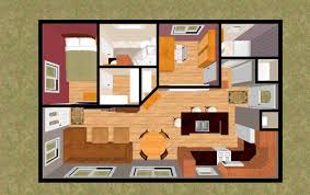 One Room House Floor Plans by 1 Bedroom Small House Floor Plan One Room House Plan Chinese House