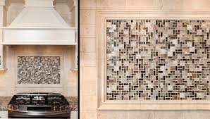 kitchen 4x4 tile backsplash set at an diagonal with accent stripe
