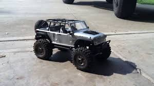 jeep truck lifted home built lift kit for rc jeep axial scx10 youtube