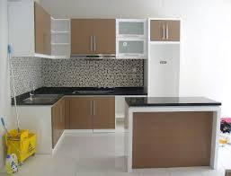 furniture kitchen set gambar kitchen set kecil keren dapur minimalis idaman