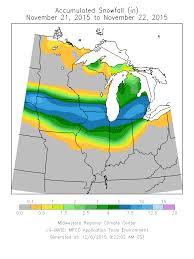 Quad Cities Map Nov 20 21 Snow Storm Summary