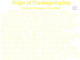 origin of thanksgivingfood of thanksgiving celebration in america