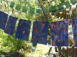 Prayer Flags Prayer Flags Hand Painted By Intuitive Artist Shona Hutchings