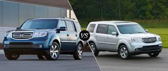 honda pilot size comparison honda pilot touring vs honda pilot ex l