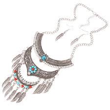 tibetan silver ethnic necklace images Boho ethnic tribal indian antique tibetan silver beaded turquoise jpg