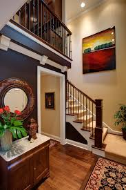 Dark Wood Banister Style Of Stairs With Dark Wood Banister Staircase Traditional And