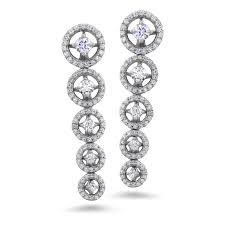 design of earrings bar design diamond earrings diamondland
